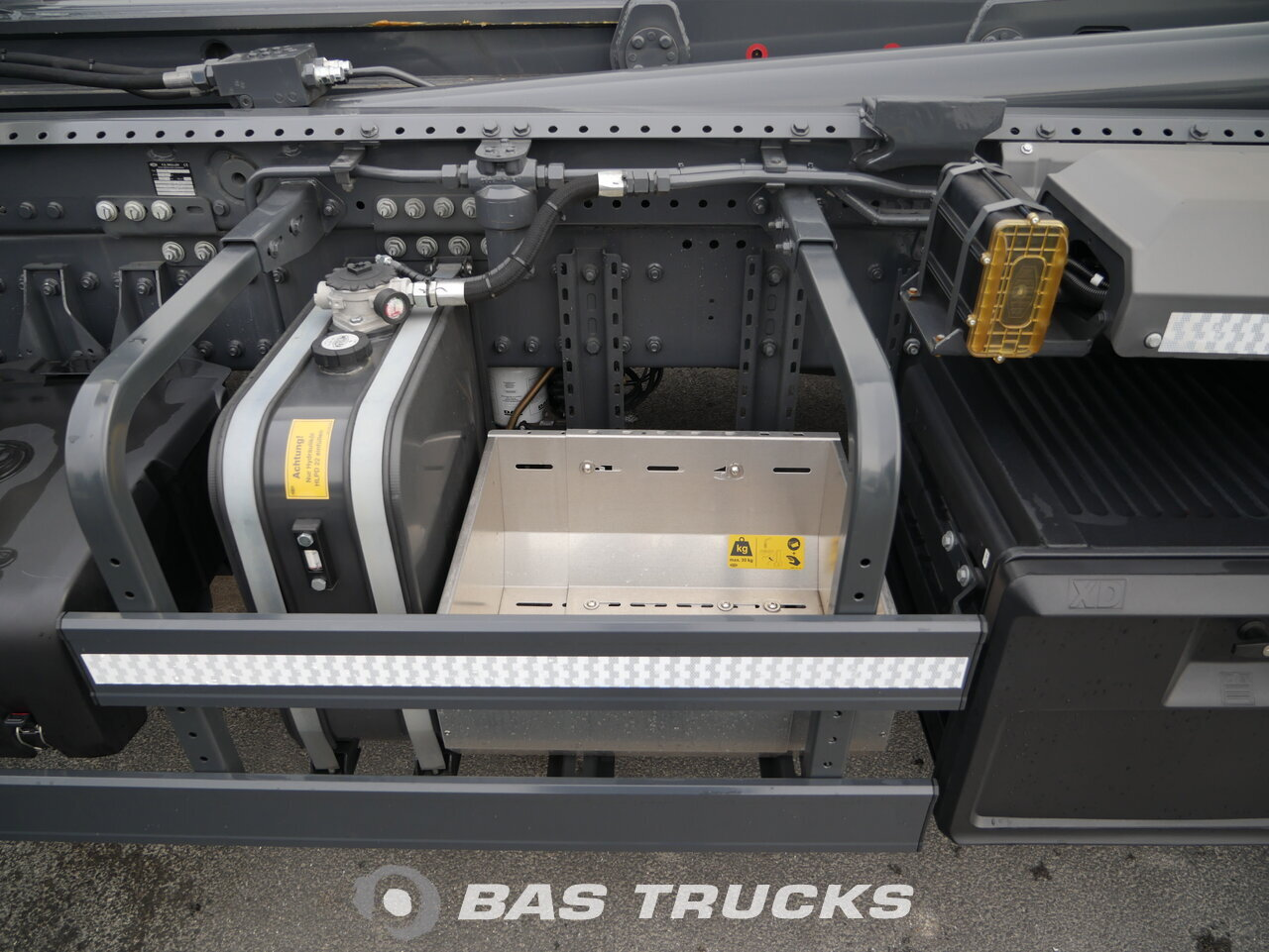photo de Occasion Camion DAF FAN CF 400 DC BTS PCC - Meiller Abrollkipper RS 21.70 6X2 2018
