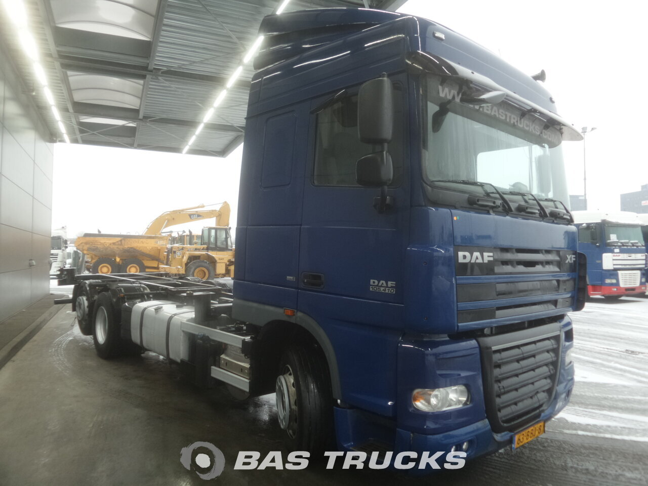 photo de Occasion Camion DAF XF105.410 6X2 2008