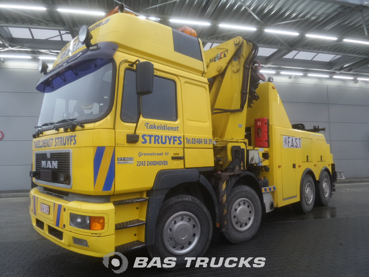 photo de Occasion Camion MAN 37.403 8X4 1999