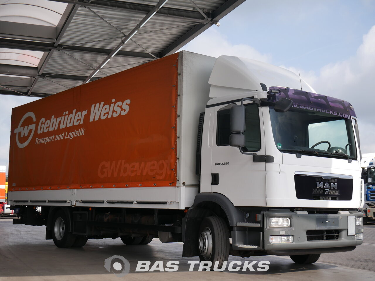 photo de Occasion Camion MAN TGM 12.290 C 4X2 2010