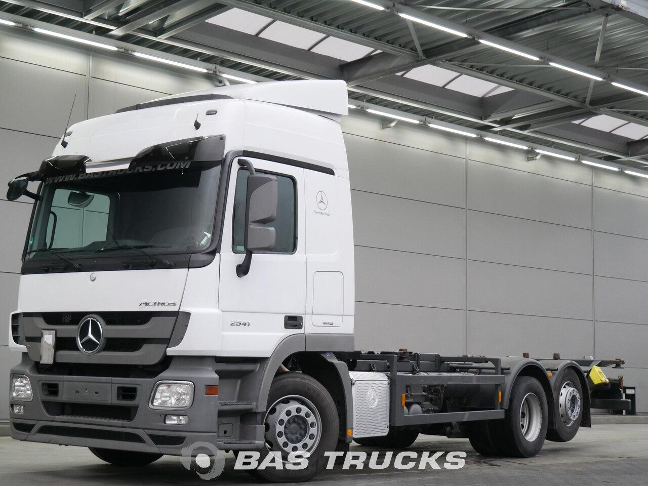photo de Occasion Camion Mercedes Actros 2541 L 6X2 2010