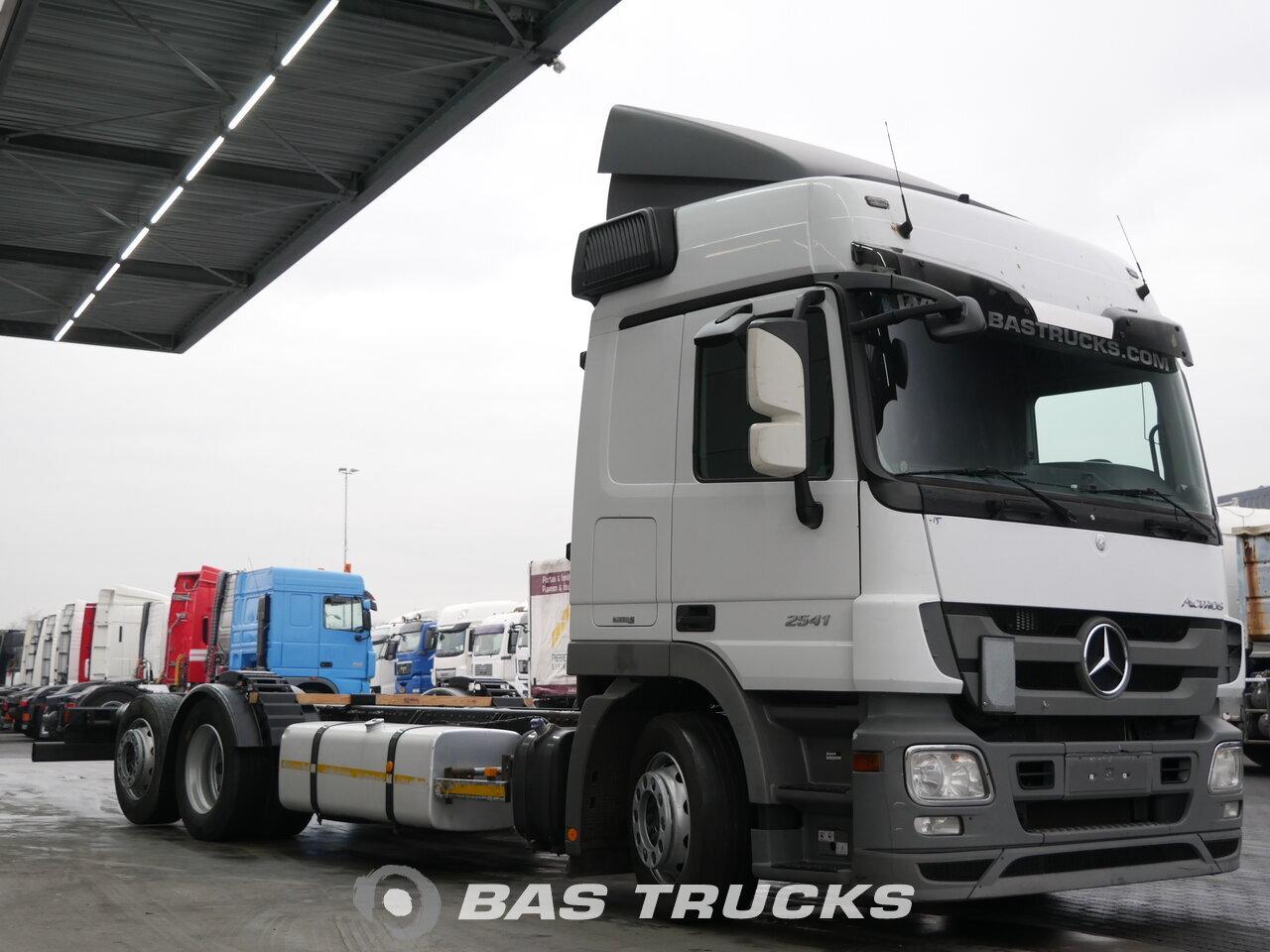 mercedes actros 2541 l camion euro 5 19400 bas trucks. Black Bedroom Furniture Sets. Home Design Ideas