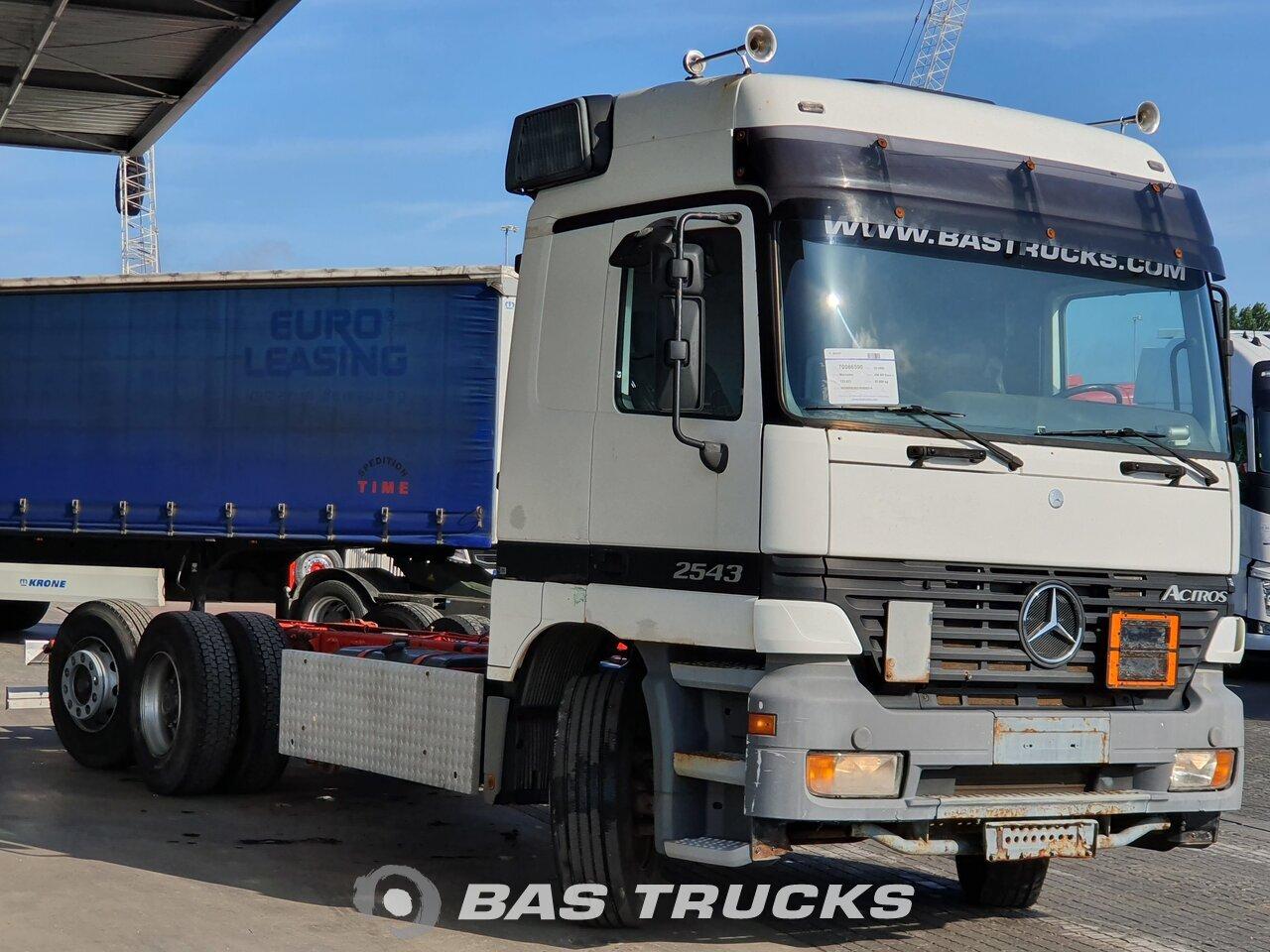 mercedes actros 2543 l camion euro 2 18200 bas trucks. Black Bedroom Furniture Sets. Home Design Ideas