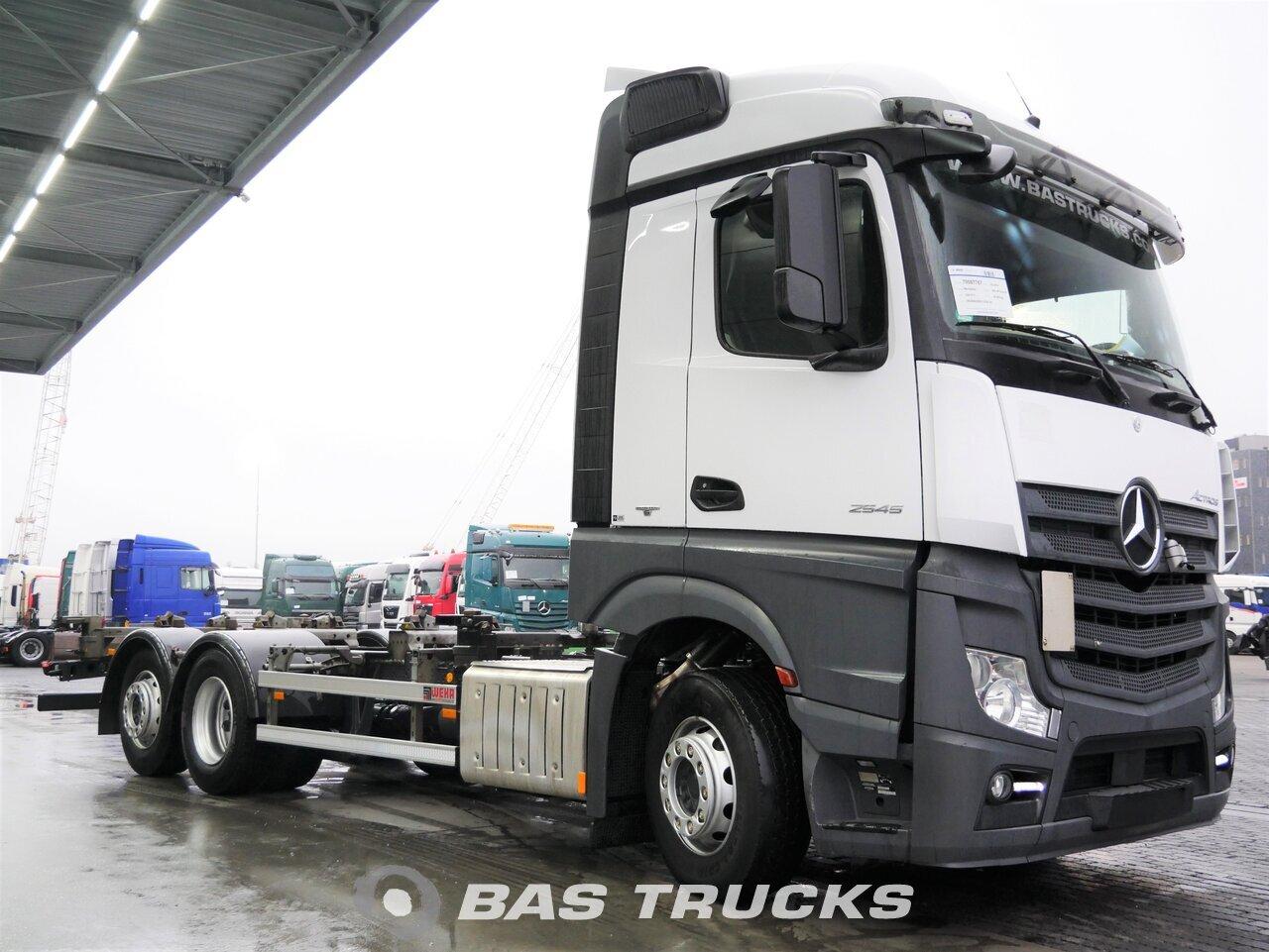 mercedes actros 2545 ll camion euro 6 27800 bas trucks. Black Bedroom Furniture Sets. Home Design Ideas