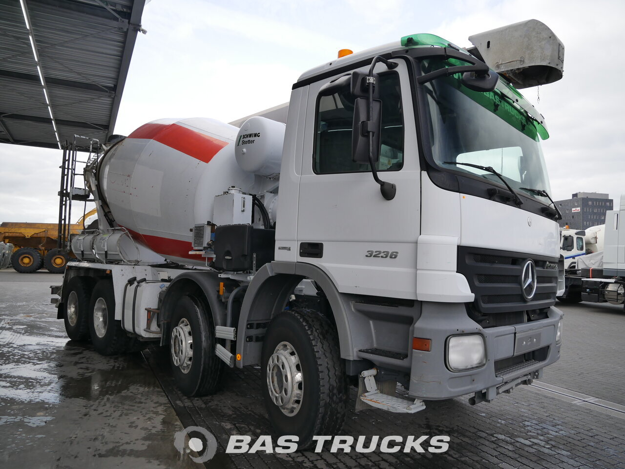 photo de Occasion Camion Mercedes Actros 3236 B 8X4 2009