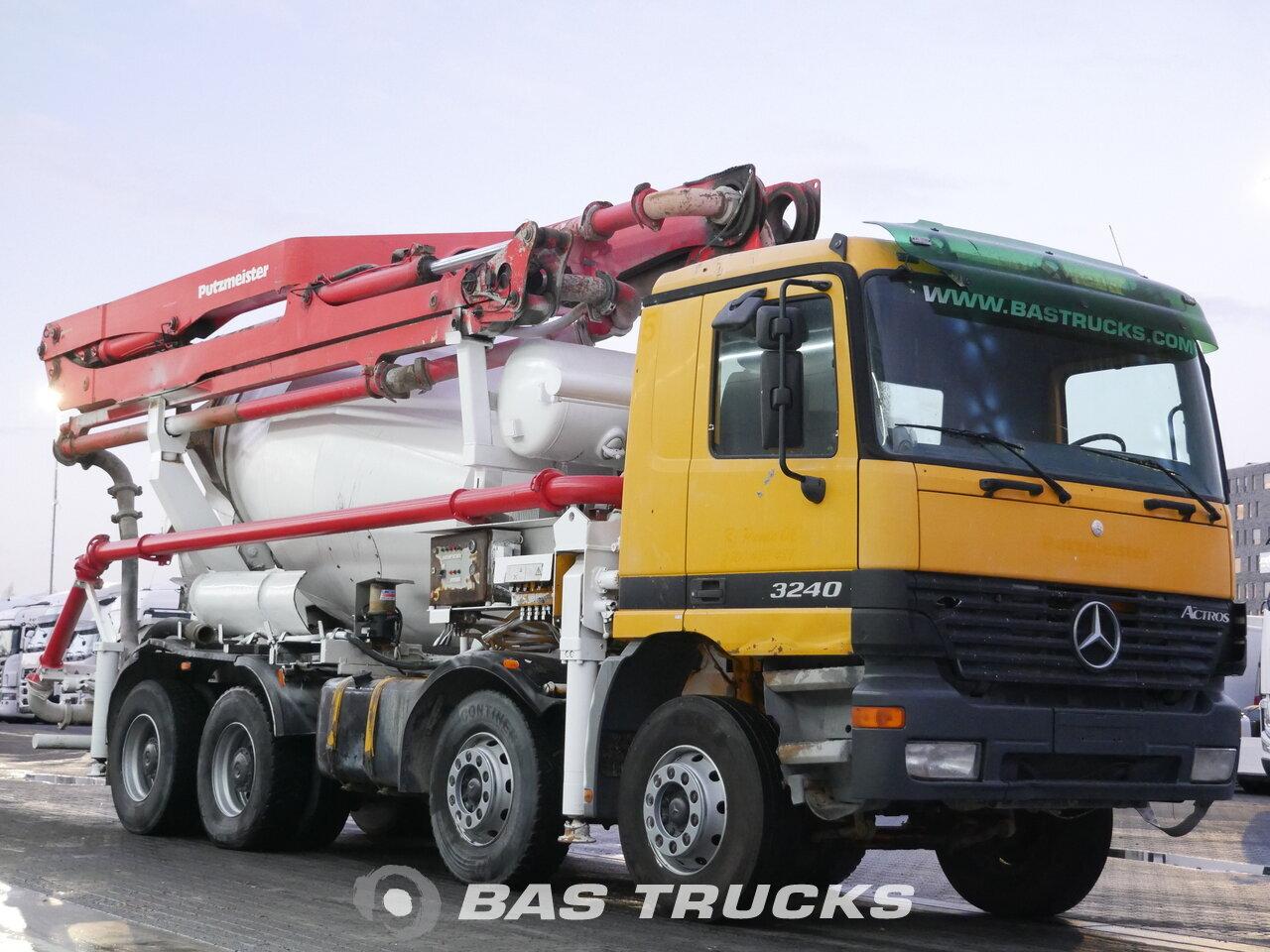 mercedes actros 3240 b camion euro 2 33200 bas trucks. Black Bedroom Furniture Sets. Home Design Ideas