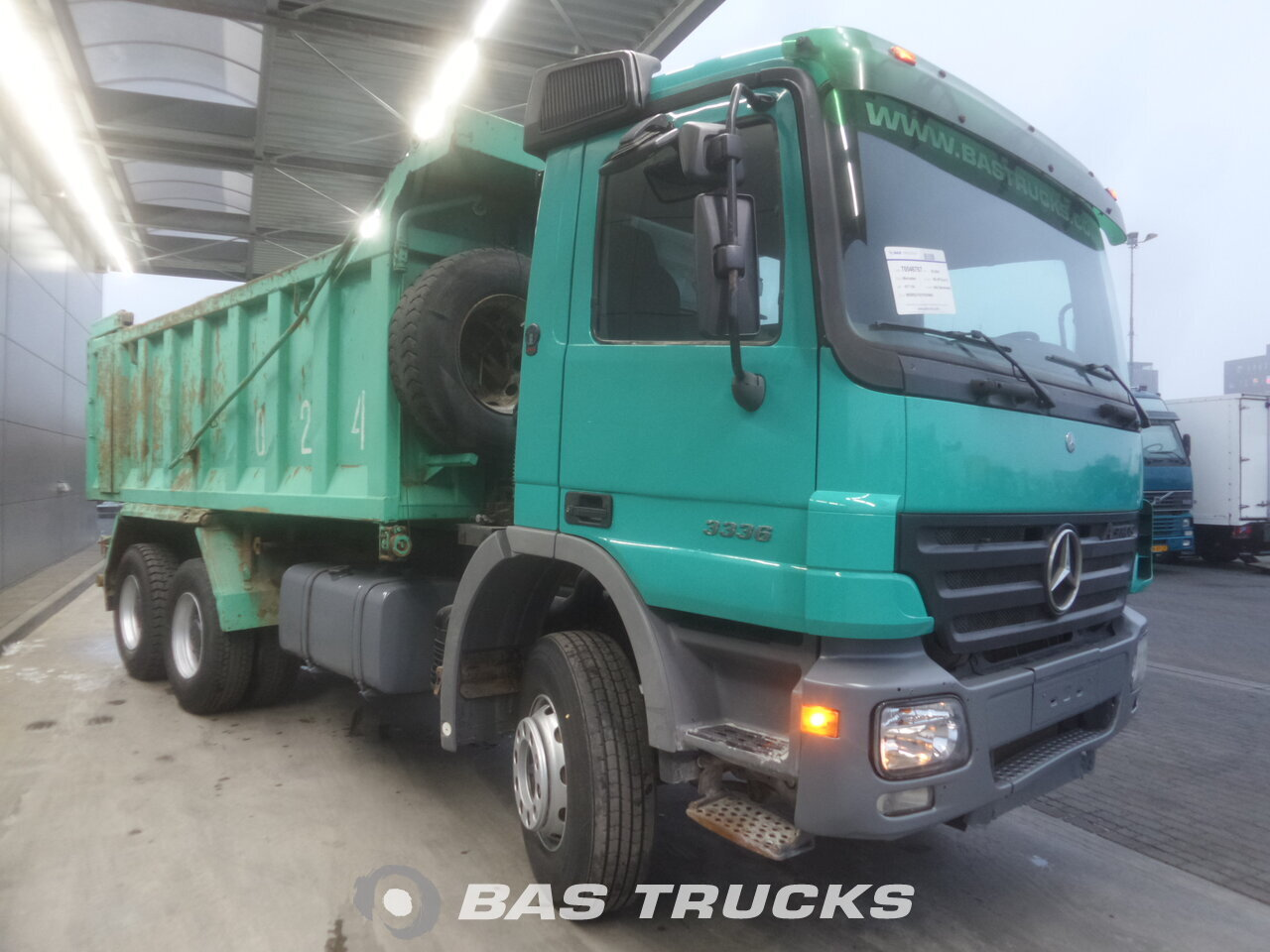mercedes actros 3336 k camion euro 3 25400 bas trucks. Black Bedroom Furniture Sets. Home Design Ideas