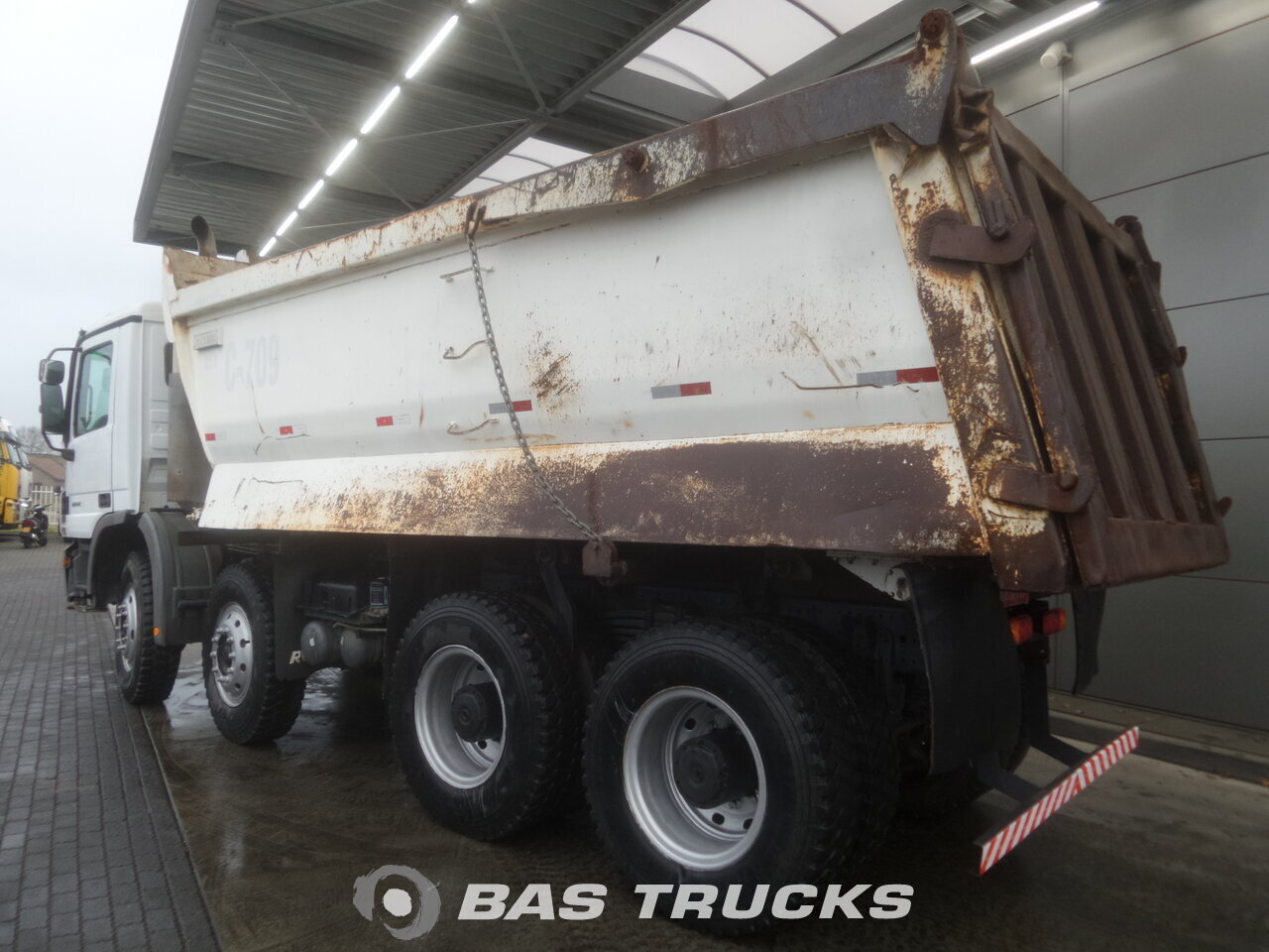 photo de Occasion Camion Mercedes Actros 4144 K 8X4 2008