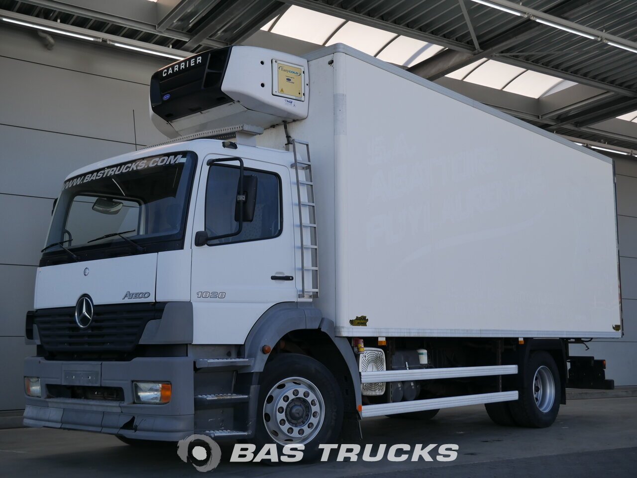 photo de Occasion Camion Mercedes Atego 1828 K 4X2 2004
