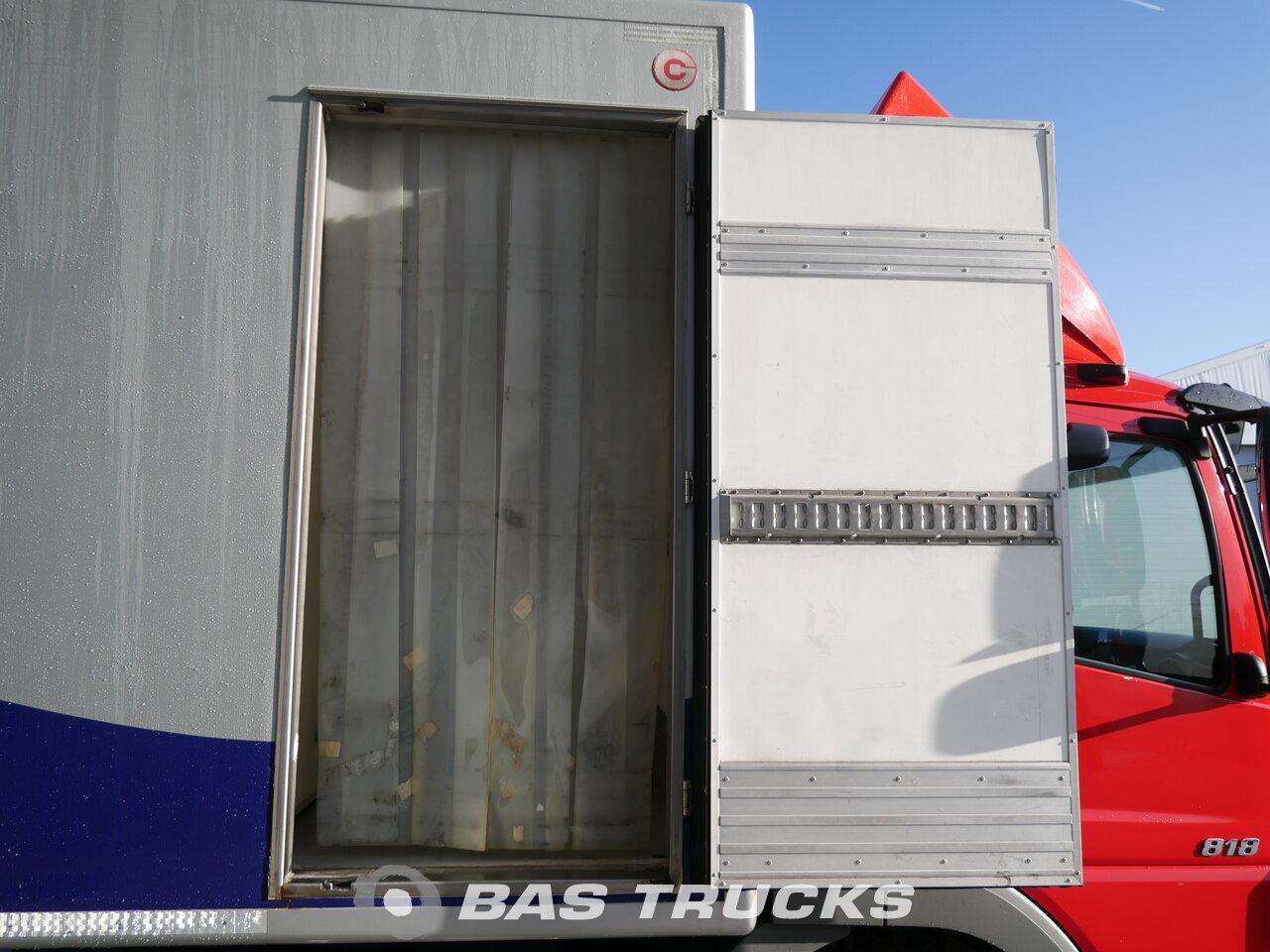 photo de Occasion Camion Mercedes Atego 818 L 4X2 2010