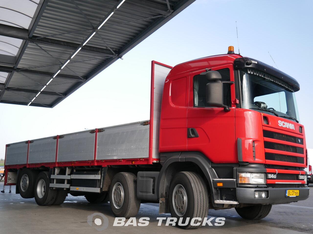 photo de Occasion Camion Scania R114G 8X2 2002