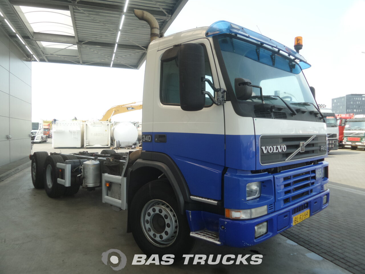 photo de Occasion Camion Volvo FM12 340 6X2 2001