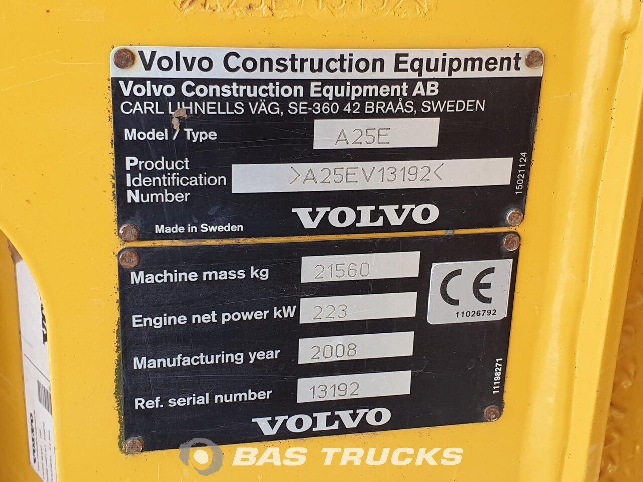 Volvo A25E 6X6 01/2008 - BAS Trucks