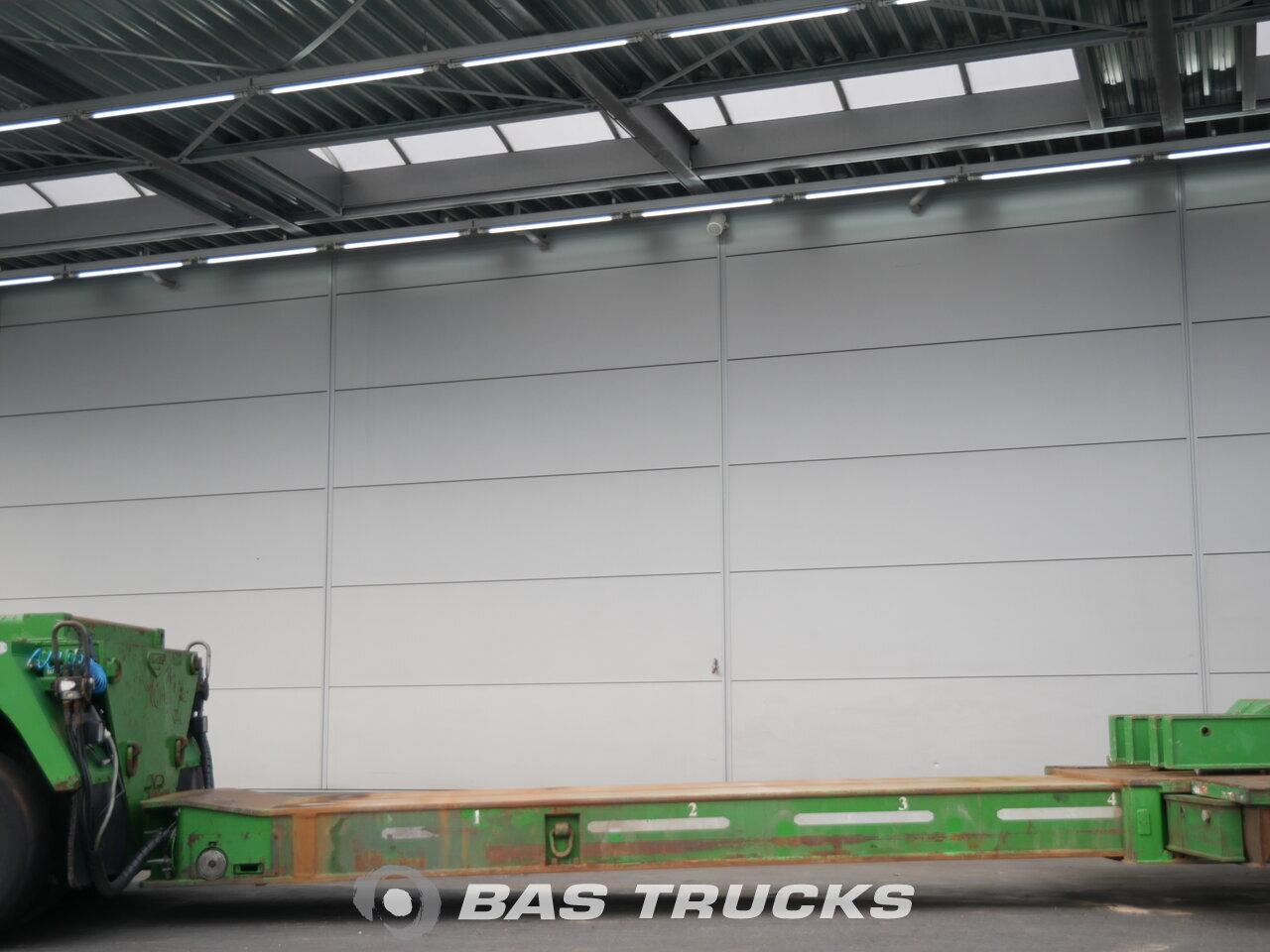 photo de Occasion Semi-remorques Broshuis 2AD-52 Ausziehbar bis 22m15 Lift+Lenkachse 6 Essieux 2008