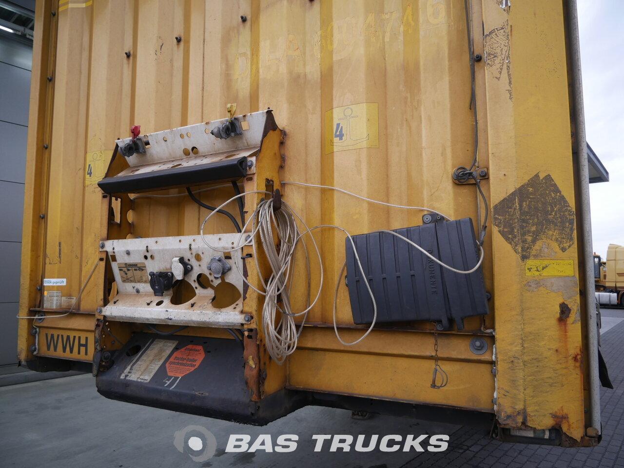 photo de Occasion Semi-remorques Krone Huckepack SD 3 Essieux 2011