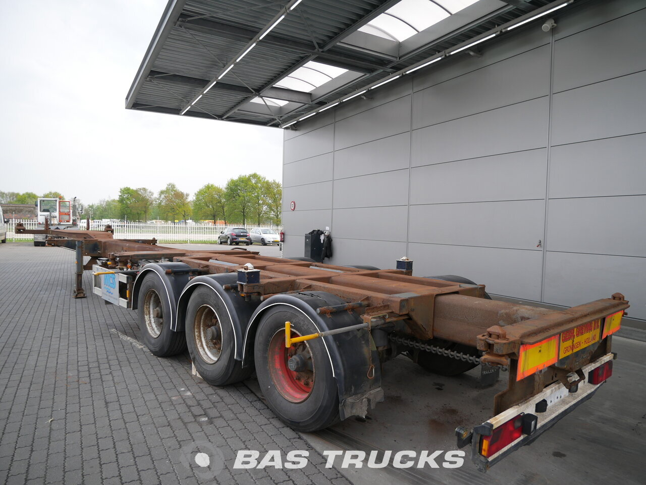 photo de Occasion Semi-remorques Nooteboom FT-43-03V 2x Ausziehbar Extending-Multifunctional-Chassis Liftachse 3 Essieux 2001