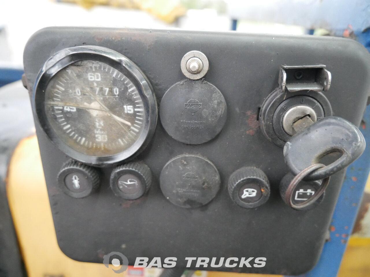 photo de Occasion Semi-remorques Pacton T3 003 2x Lenkachse R165F2 Rollerkan. 3 Essieux 1999
