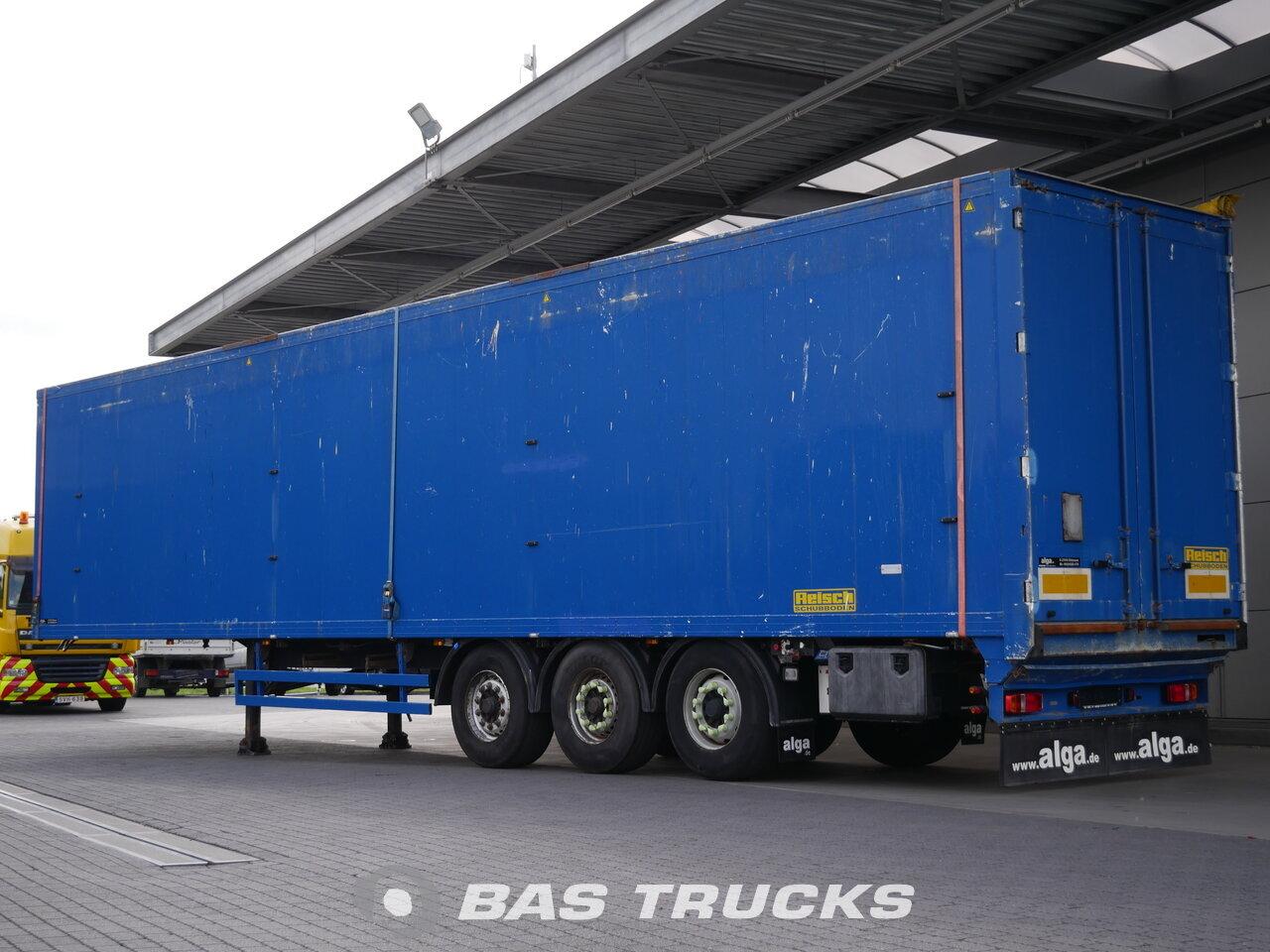 photo de Occasion Semi-remorques Reisch  91m3 Liftachse CargoFloor RSBS-35/24LK Essieux 2010
