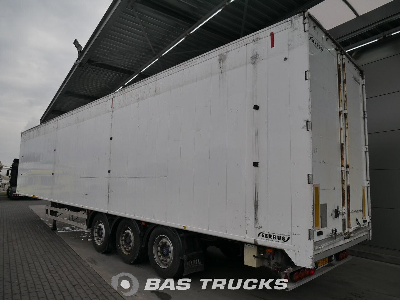 photo de Occasion Semi-remorques Serrus 91m3 Walking Floor Cargo AOZS13-27 3 Essieux 2004