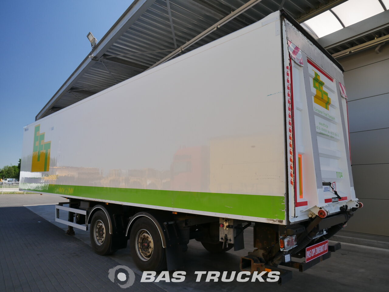 photo de Occasion Semi-remorques System trailers  GSPRS 18 Lenkachse Ladebordwand 2 Essieux 2011
