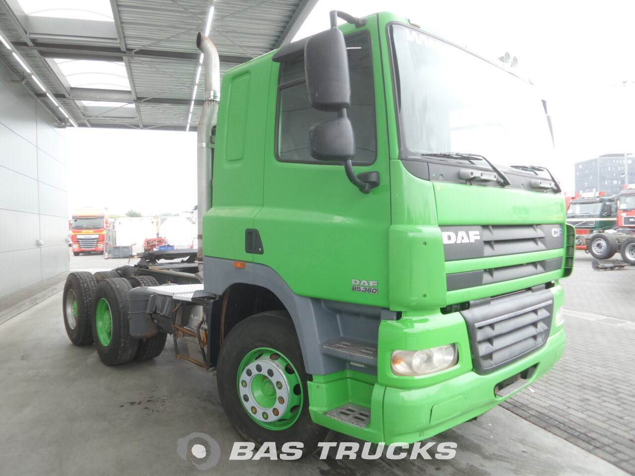 photo de Occasion Tracteur DAF CF85.360 6X4 2011