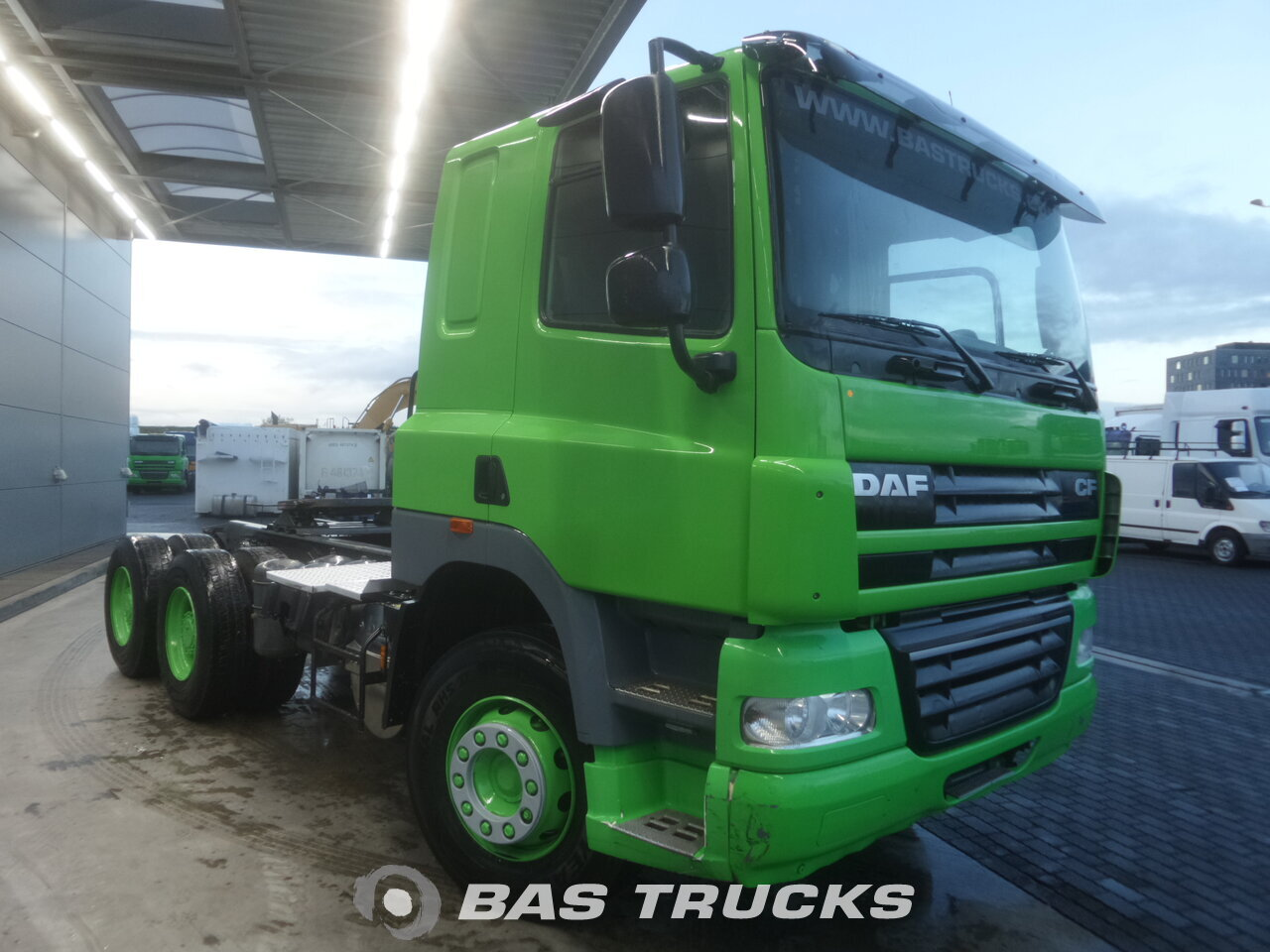 photo de Occasion Tracteur DAF CF85.410 6X4 2013