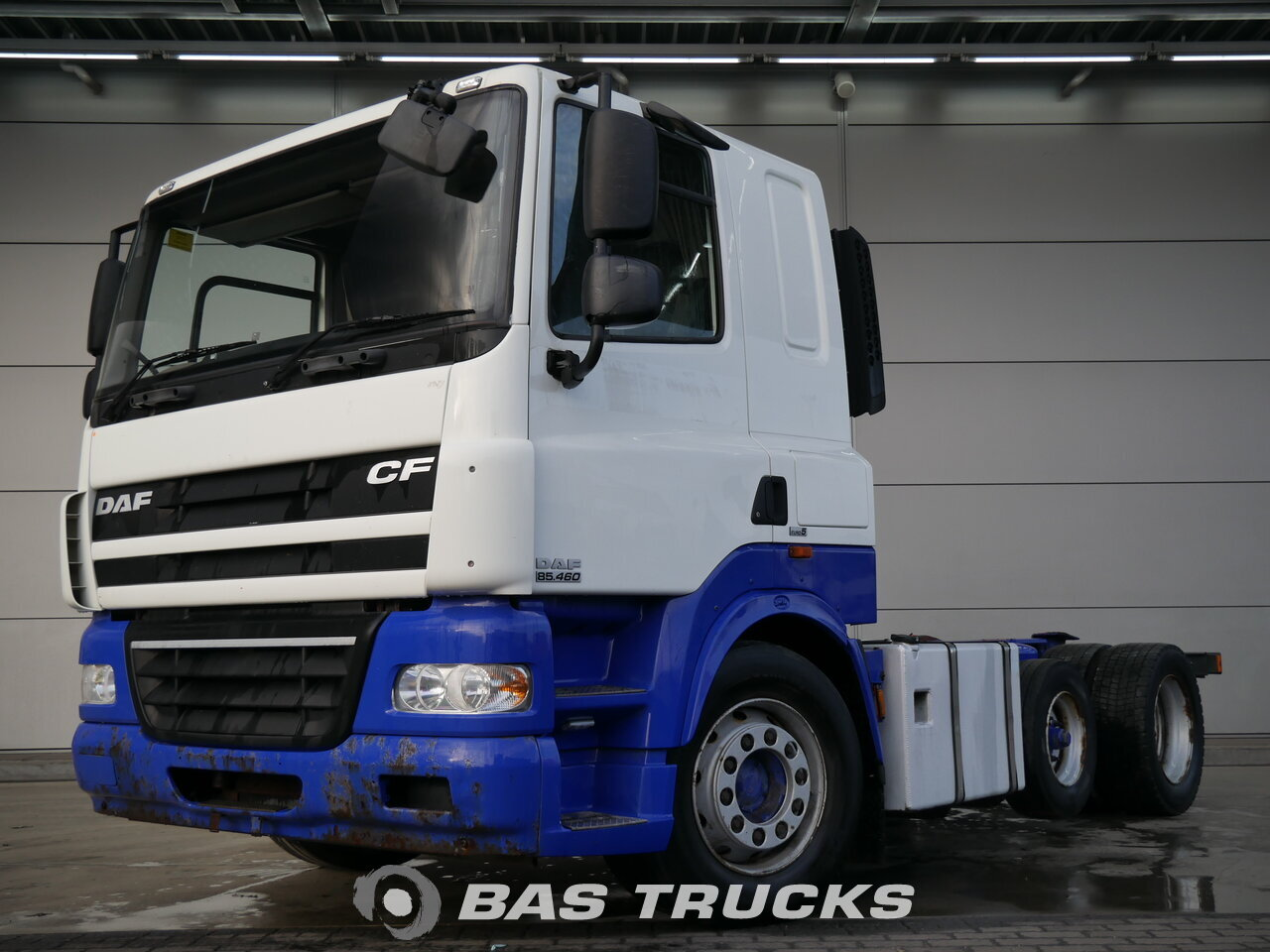 photo de Occasion Tracteur DAF CF85.460 RHD 6X2 2008