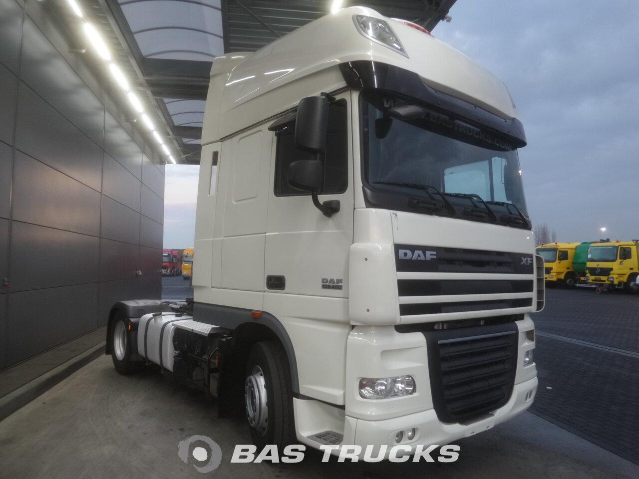 photo de Occasion Tracteur DAF XF105.460 SSC 4X2 2012