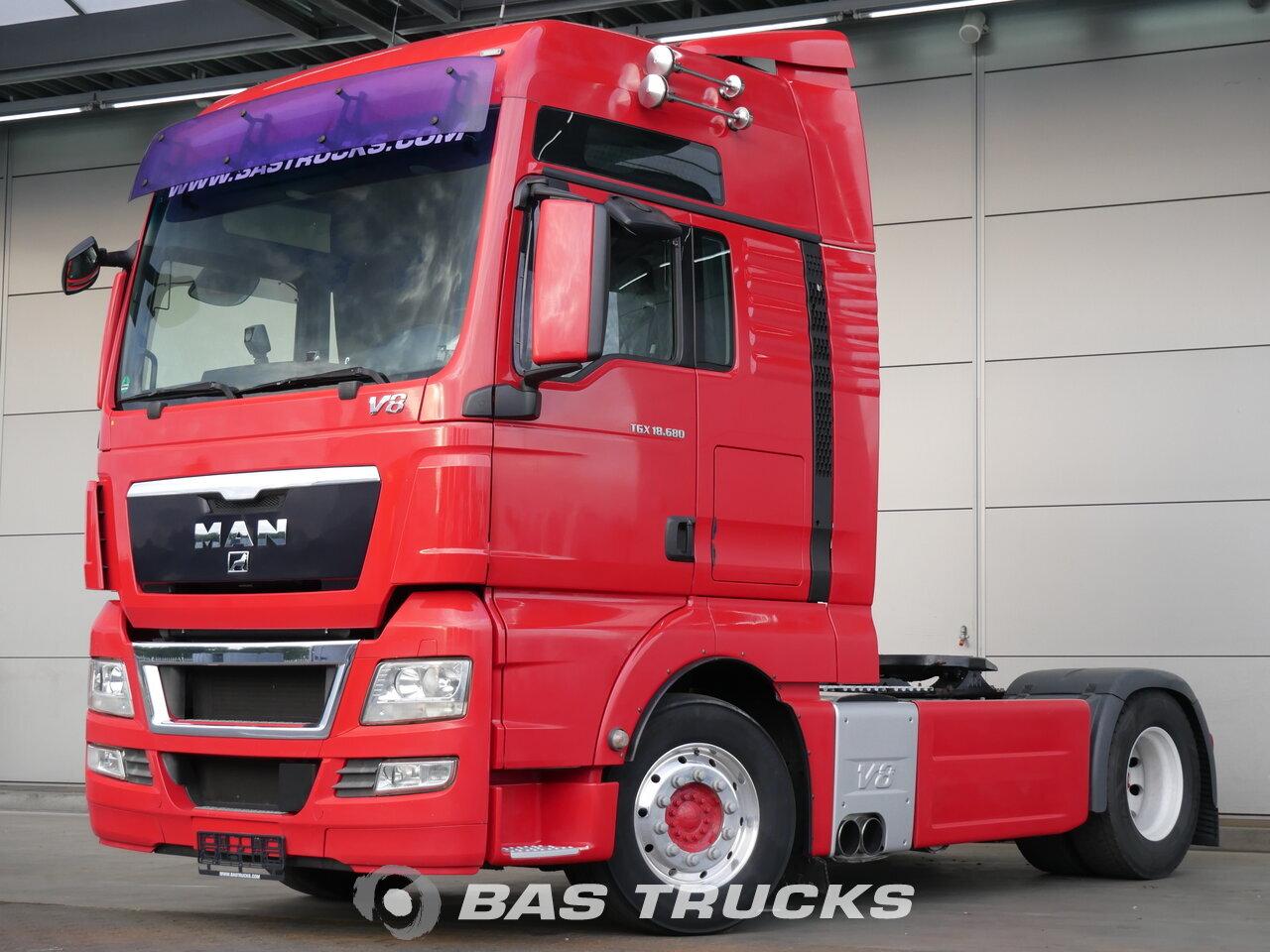 photo de Occasion Tracteur MAN TGX 18.680 XXL 4X2 2010