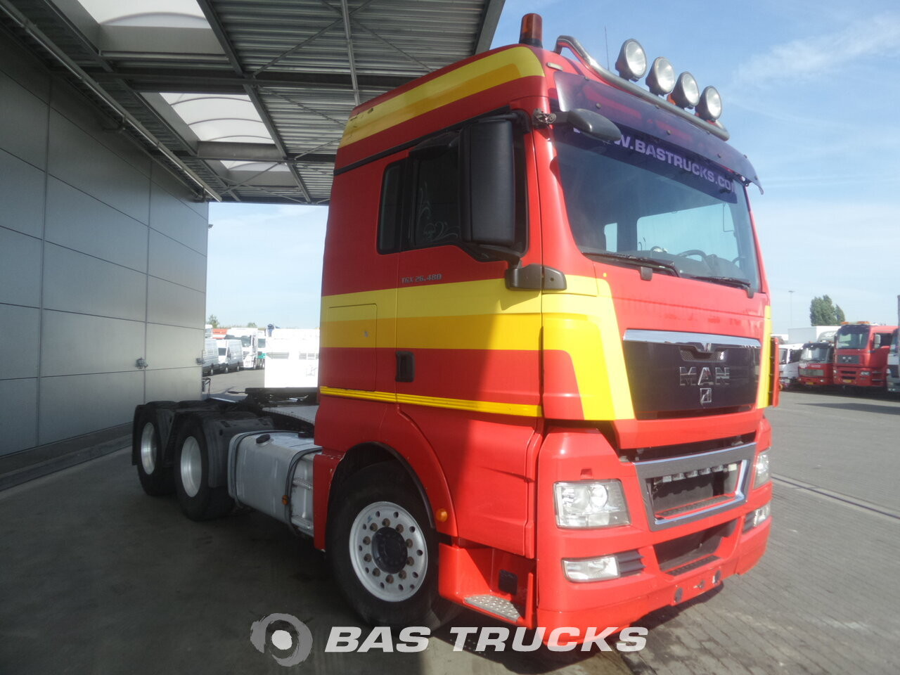 photo de Occasion Tracteur MAN TGX 26.480 XLX 6X4 2008