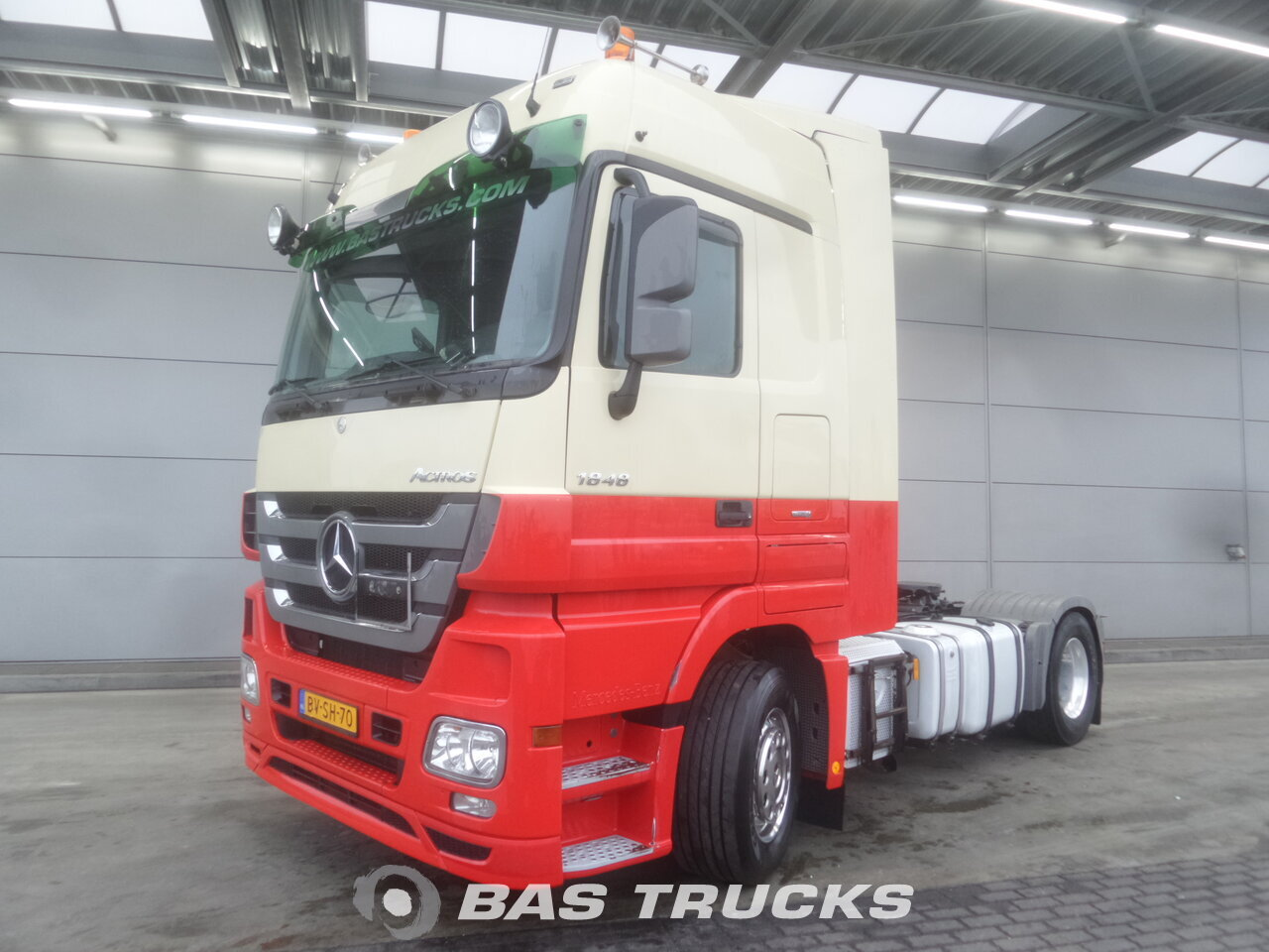 photo de Occasion Tracteur Mercedes Actros 1848 LS 4X2 2009