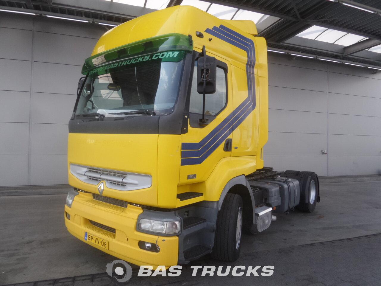 photo de Occasion Tracteur Renault Premium 420 4X2 2005