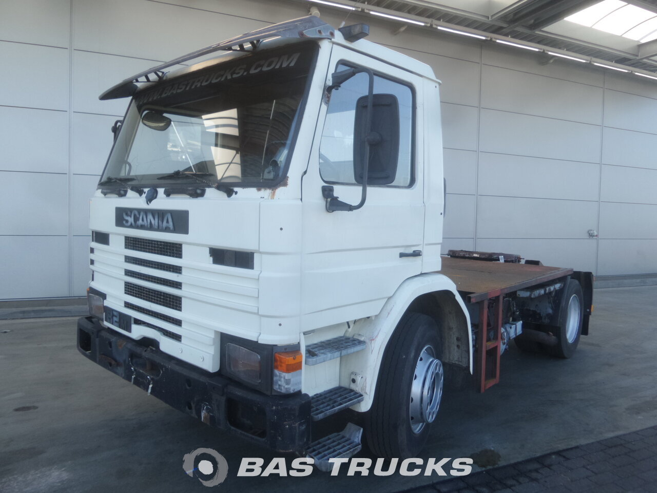 photo de Occasion Tracteur Scania P82M 4X2 1985