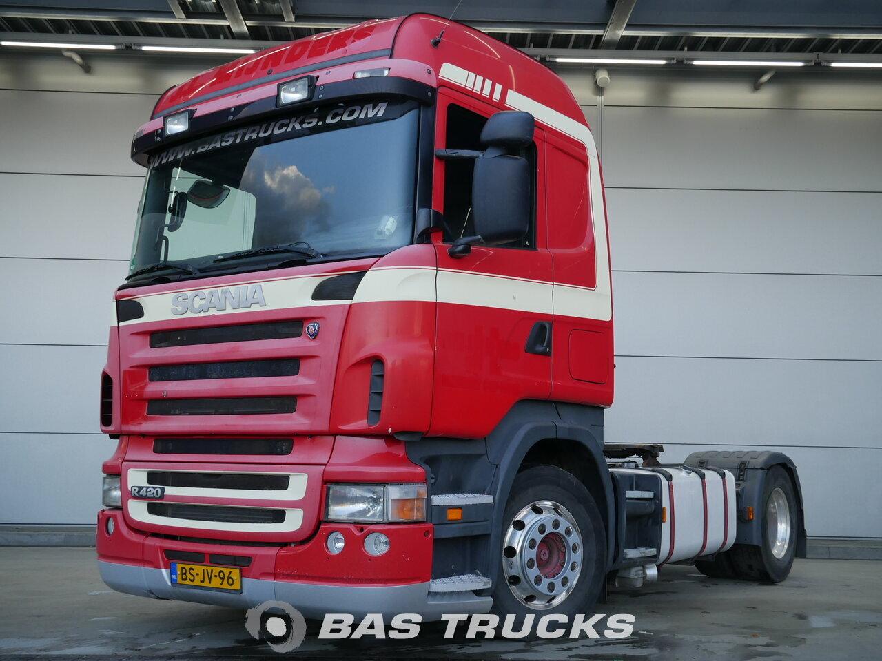 photo de Occasion Tracteur Scania R420 4X2 2006