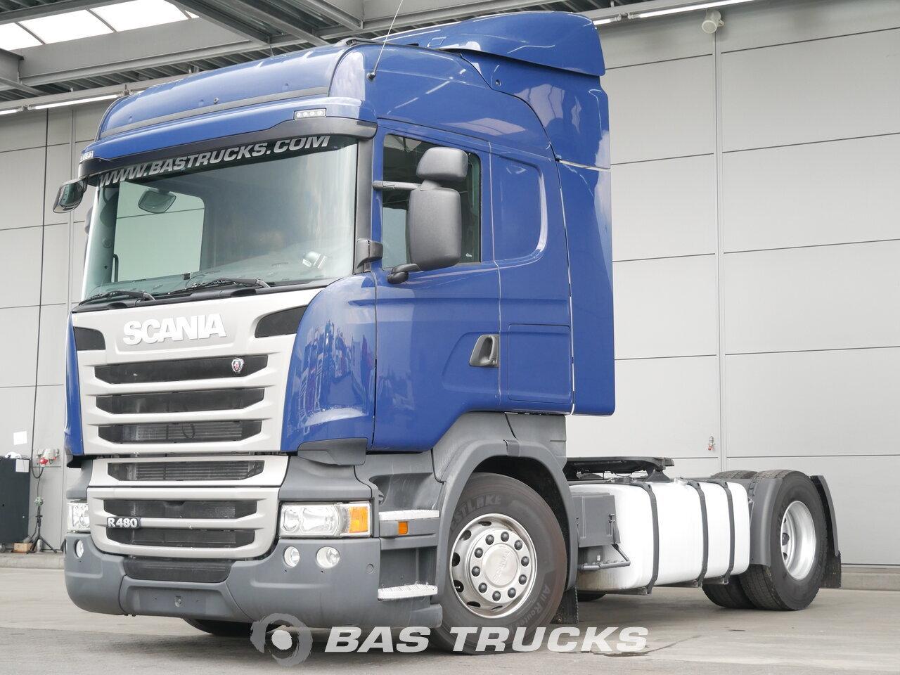 photo de Occasion Tracteur Scania R480 4X2 2013