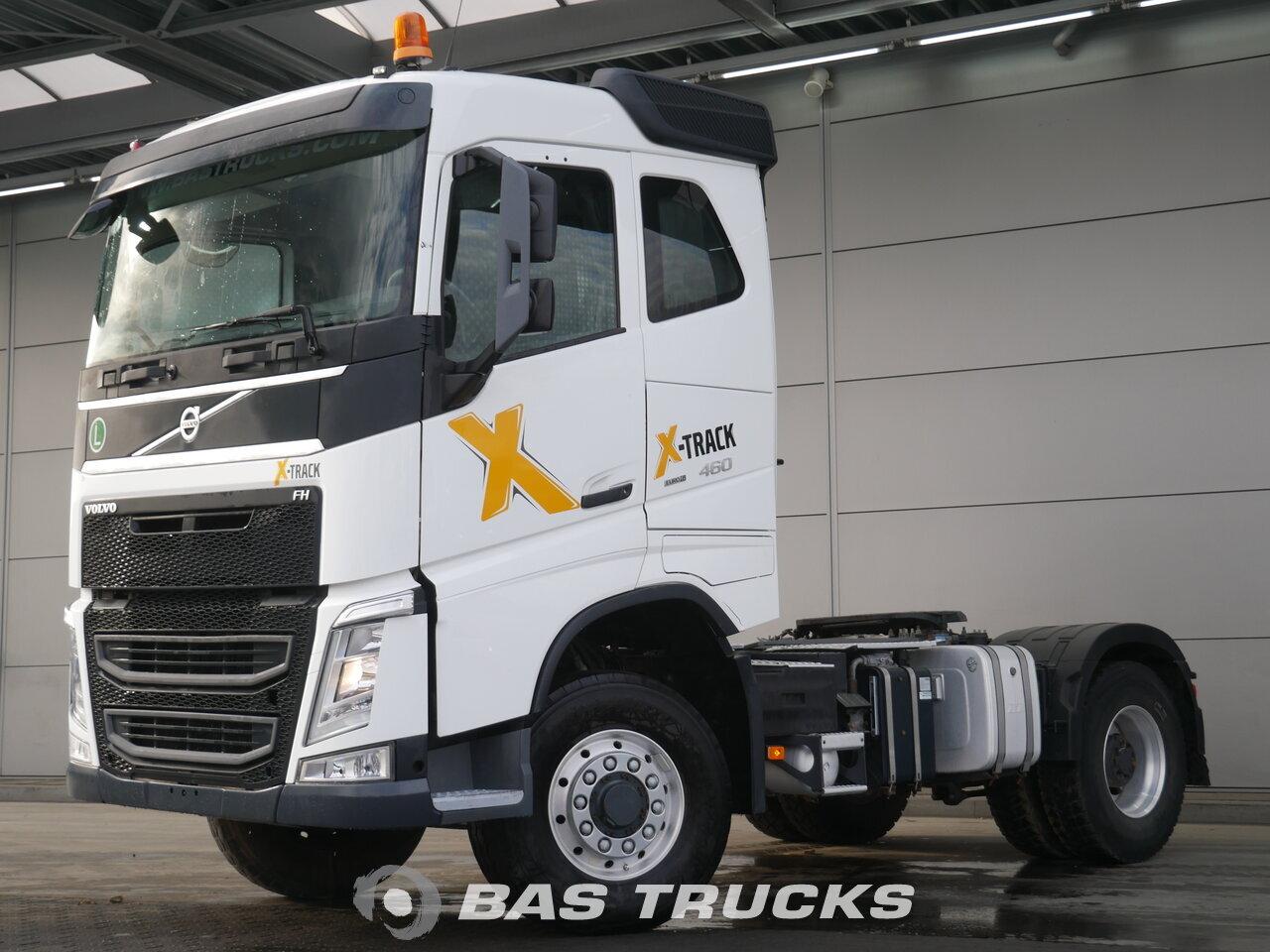 volvo fh 460 4x4 unfall fahrbereit tracteur euro 6 54800 bas trucks. Black Bedroom Furniture Sets. Home Design Ideas