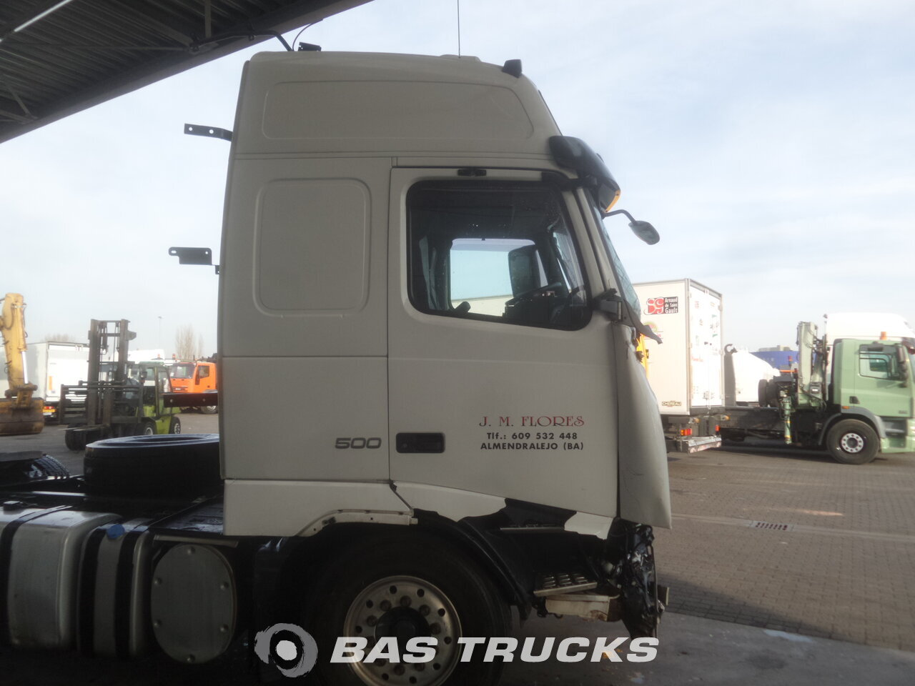 photo de Occasion Tracteur Volvo FH 500 Unfall 4X2 2012