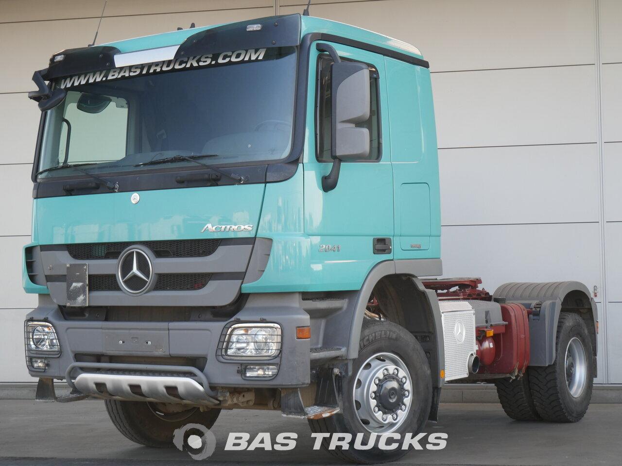 foto de Usado Cabeza tractora Mercedes Actros 2041 AS 4X4 2013