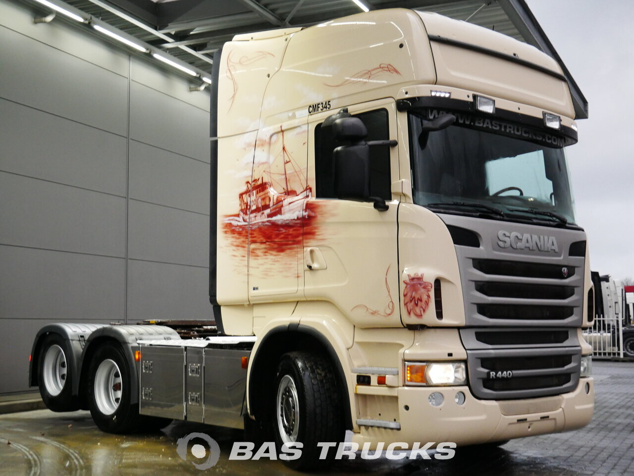 foto de Usado Cabeza tractora Scania R440 6X2 2011
