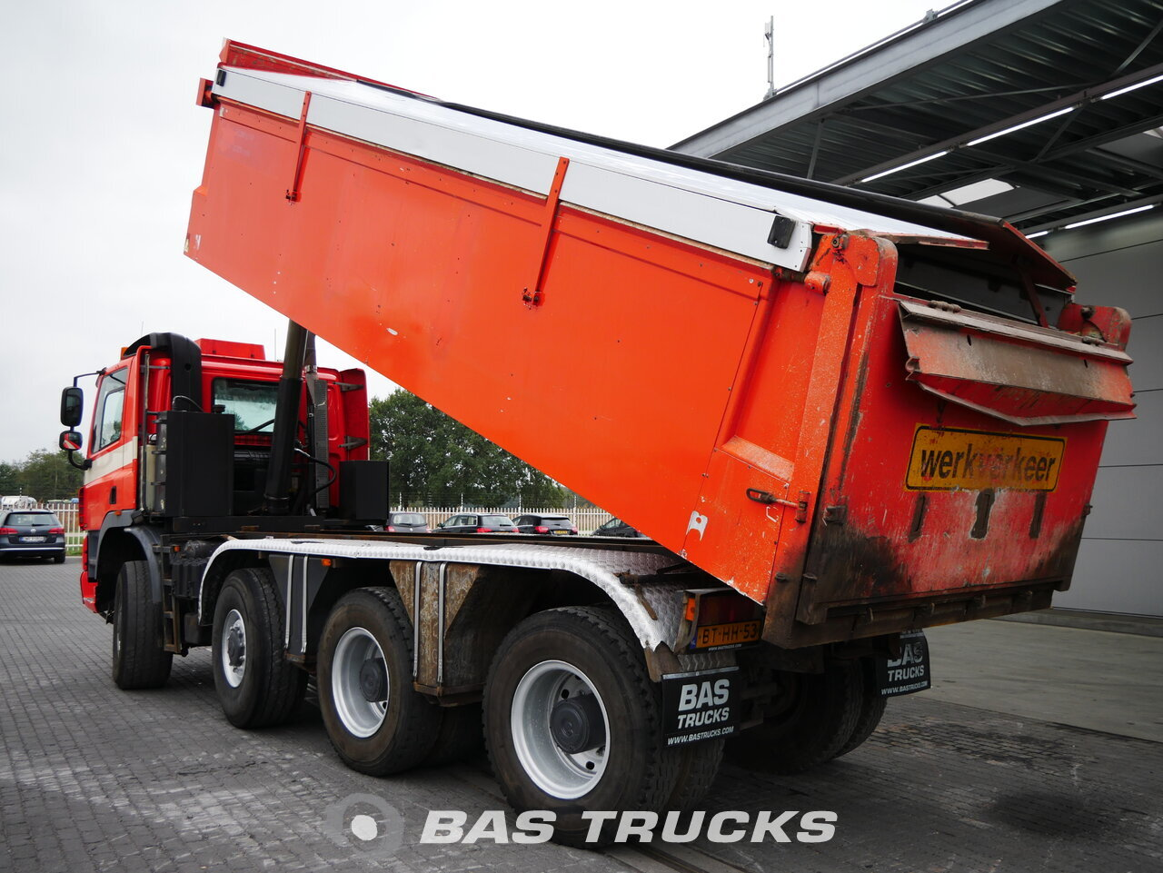 foto de Usado Camiones Ginaf X4345 TSV 8X6 2007