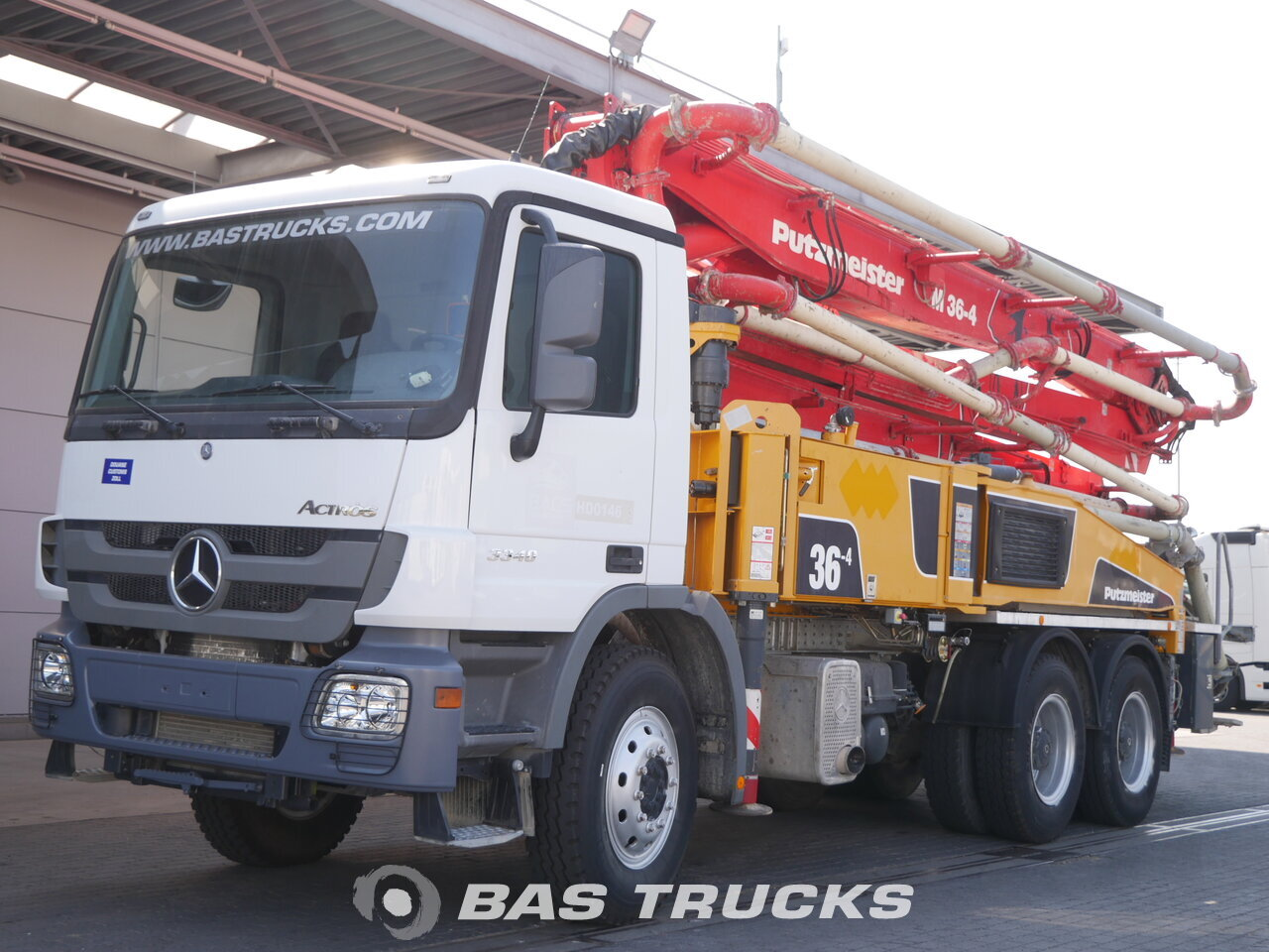 foto de Usado Camiones Mercedes Actros 3340 B 6X4 2014