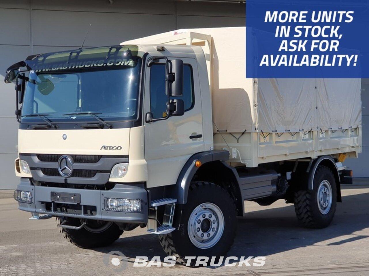 Mercedes Atego 1317 Nuevo Camiones Carroceria Con Toldo Bas Trucks
