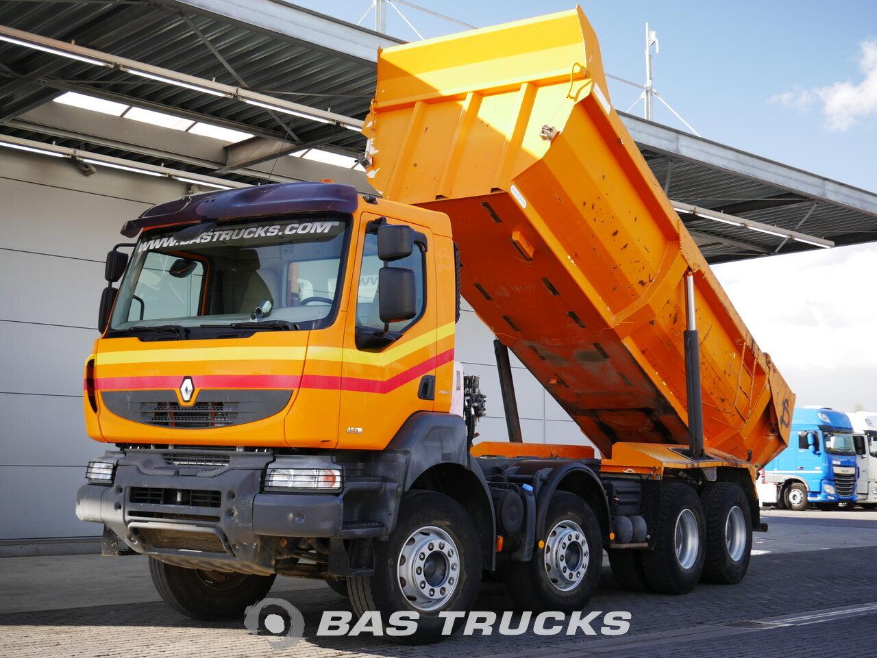 foto de Usado Camiones Renault Kerax 450 8X4 2008