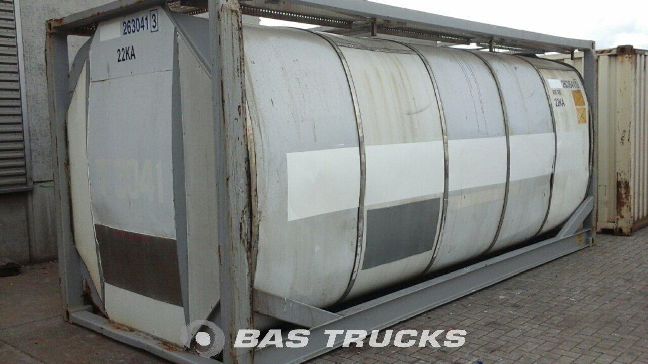 foto de Usado Contenedor Van Hool 20Ft Tankcontainer IMO-2 26000Ltr 20ft 1996