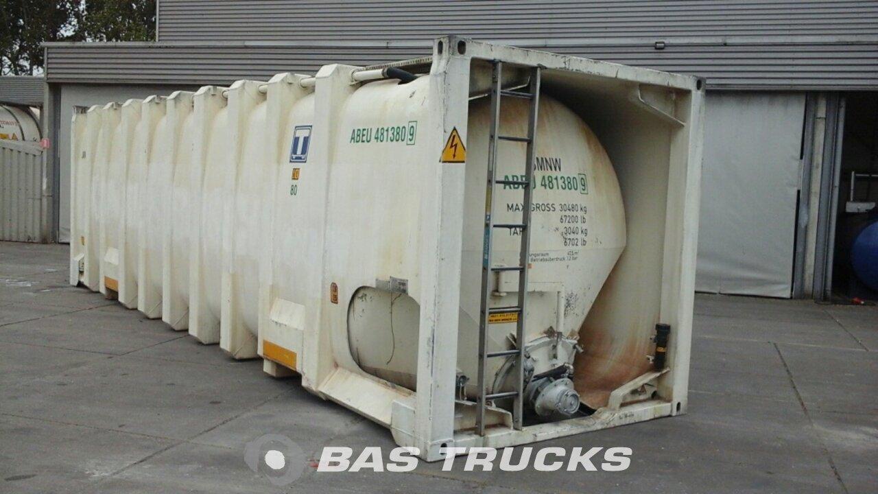 foto de Usado Contenedor Zeppelin 30Ft Silo Powder Bulkcontainer pressure 48000Ltr 30ft 1990