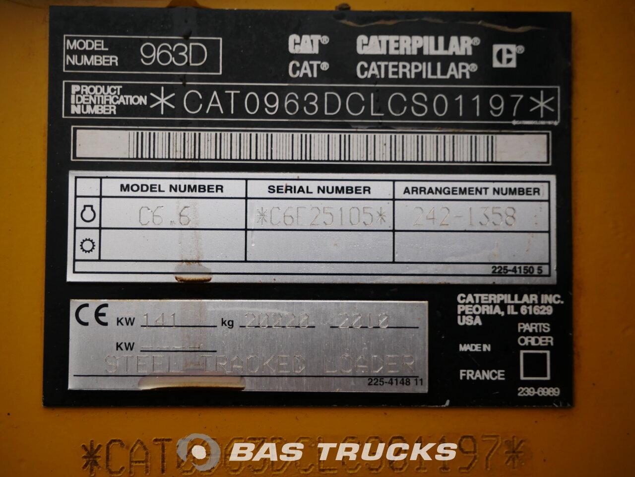 foto de Usado Máquinaria de construcción Caterpillar 963 D Track 2010