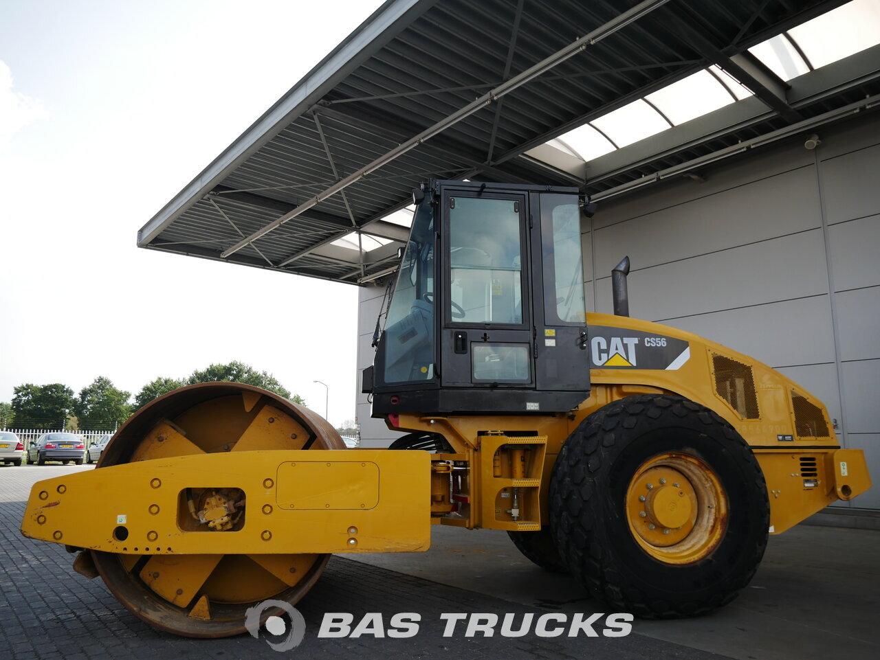 foto de Usado Máquinaria de construcción Caterpillar CS 56 Roller 2009