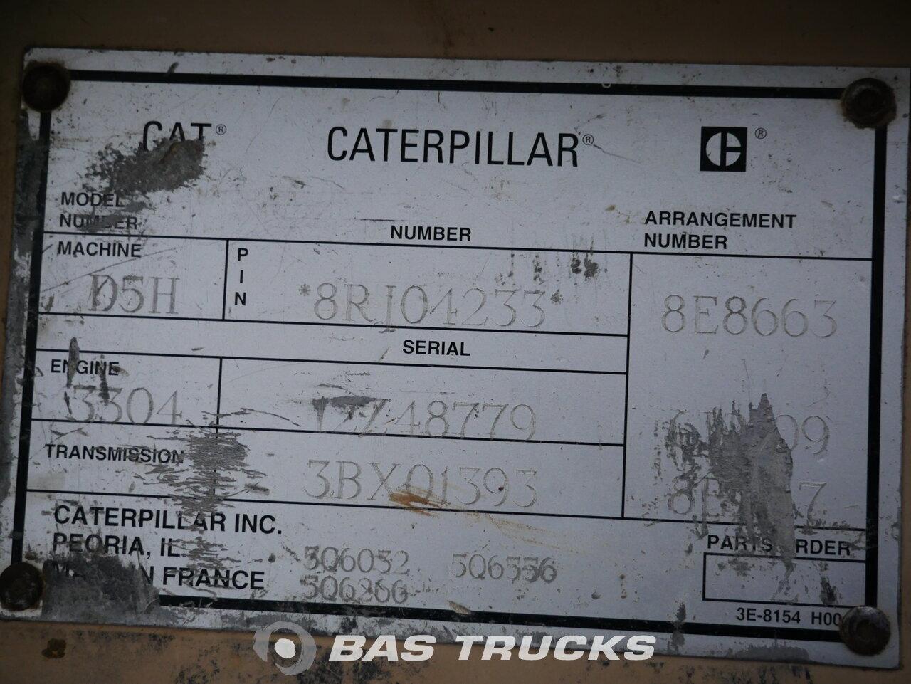 foto de Usado Máquinaria de construcción Caterpillar D5H XL Track 1994