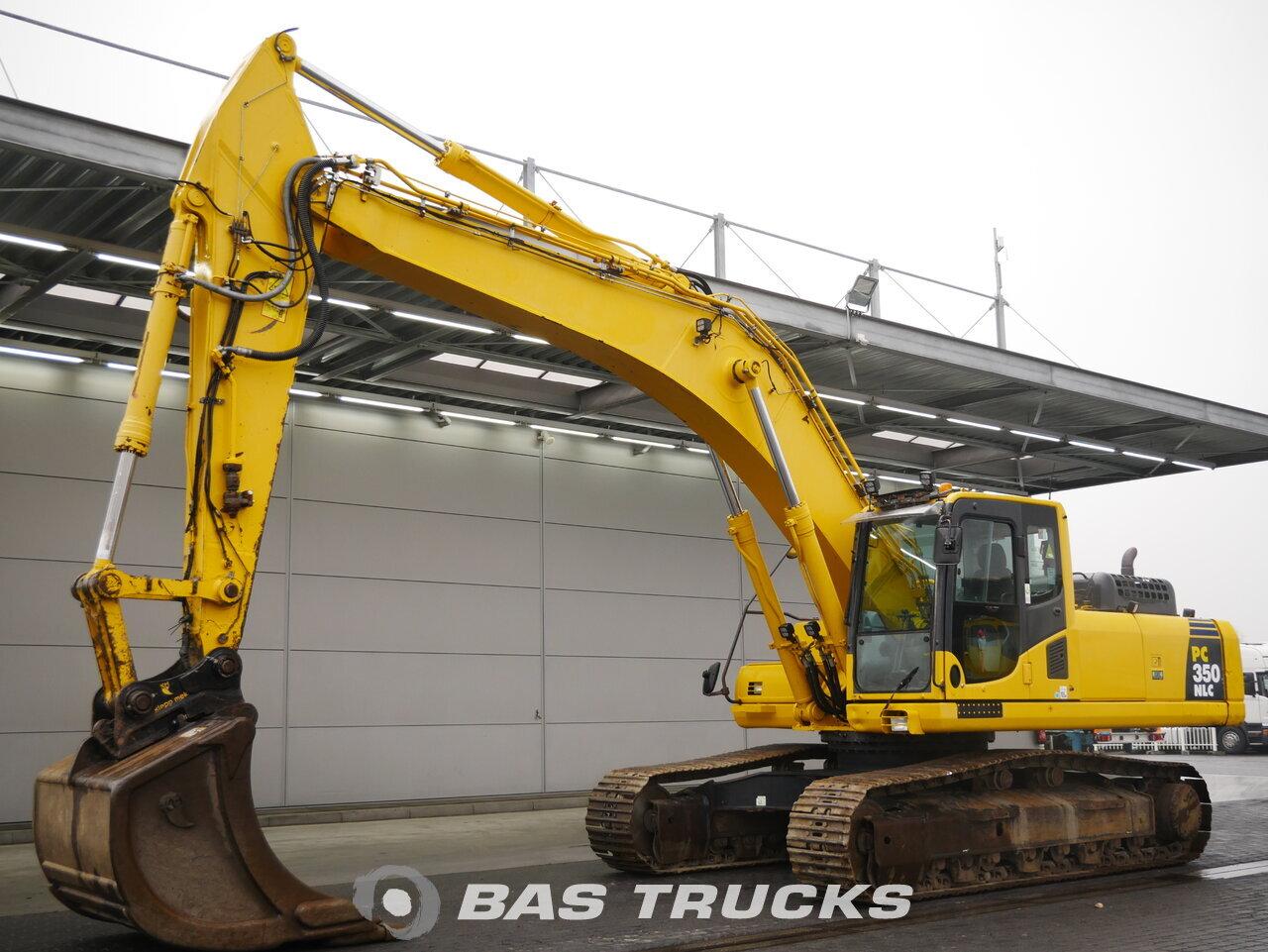 foto de Usado Máquinaria de construcción Komatsu PC350LNC-8 Track 2011
