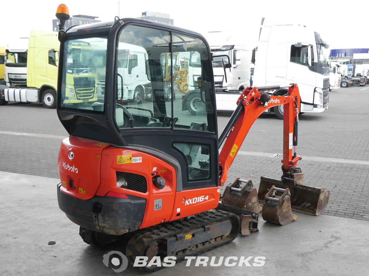 foto de Usado Máquinaria de construcción Kubota KX016-4 G Track 2015